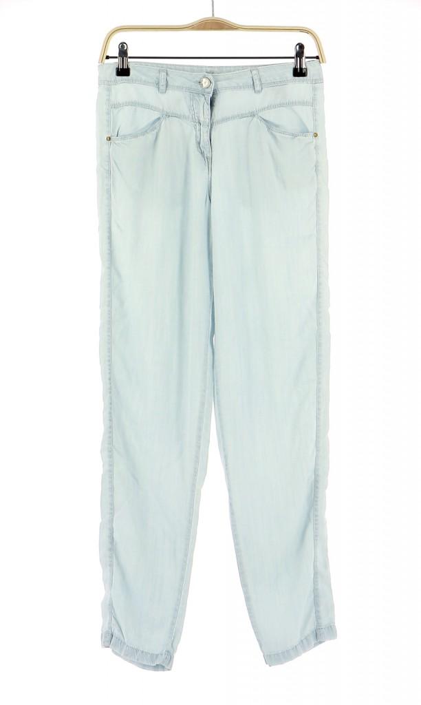 Vetements Pantalon COP COPINE BLEU CLAIR