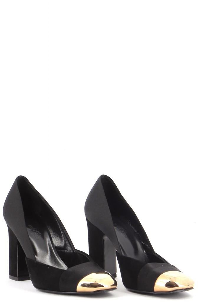 Chaussures Escarpins HERMÈS NOIR