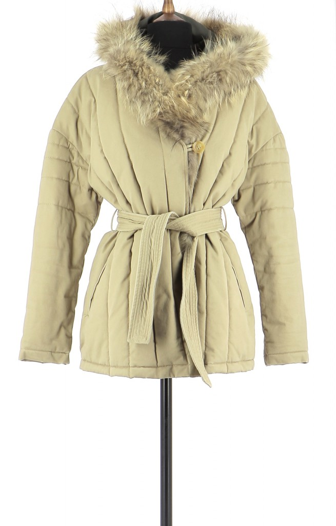 Vetements Manteau MAJE BEIGE