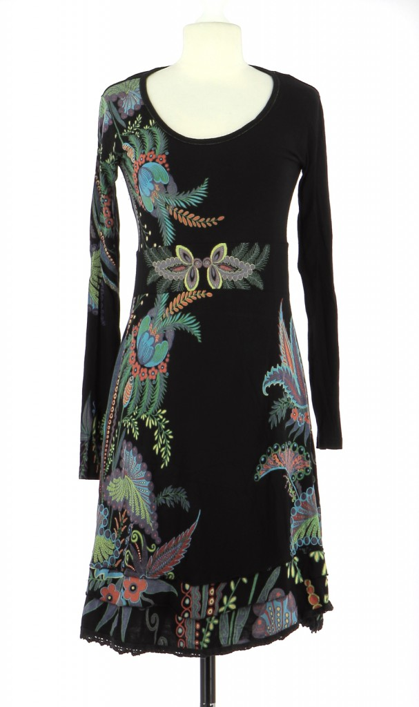 Vetements Robe DESIGUAL NOIR