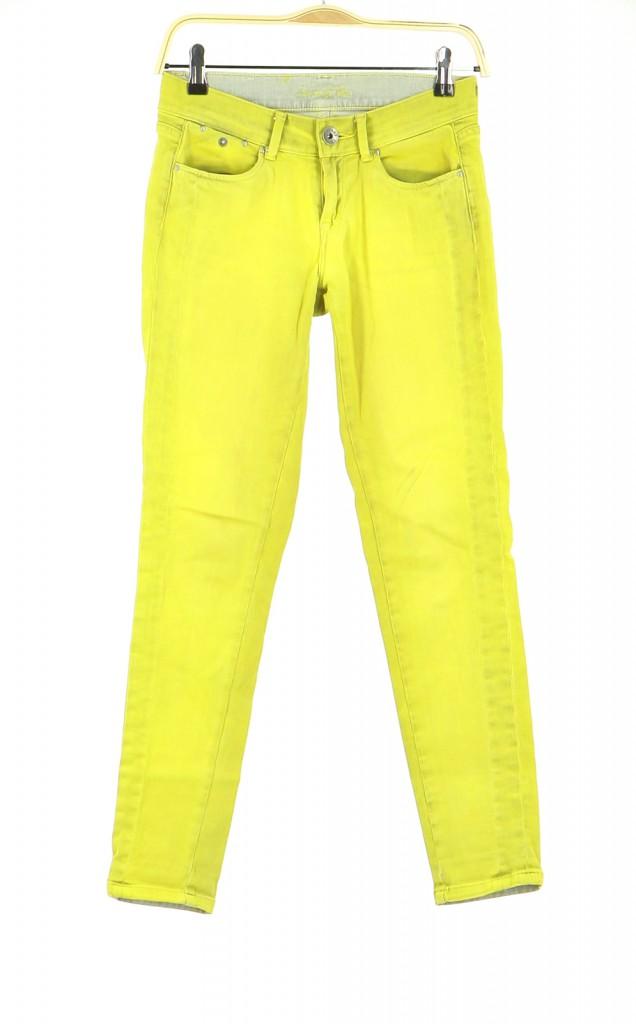 Vetements Pantalon PEPE JEANS JAUNE