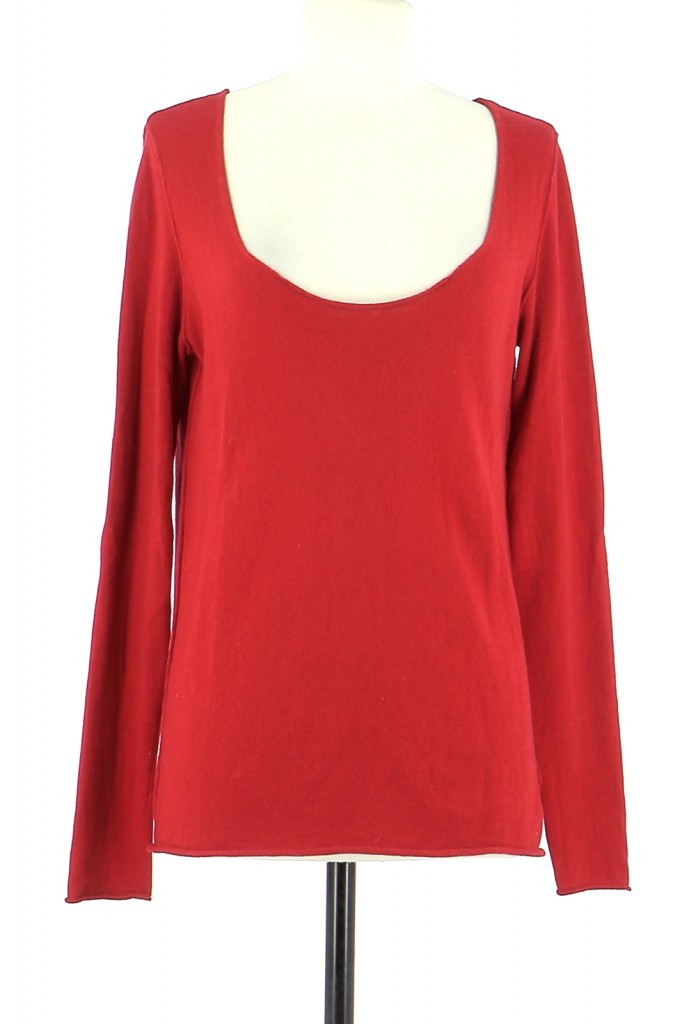 Vetements Pull SUD EXPRESS ROUGE