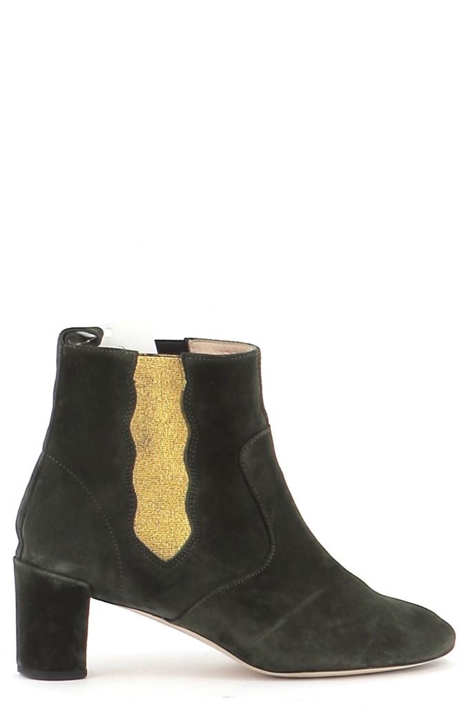 Chaussures Bottines / Low Boots REPETTO VERT FONCé