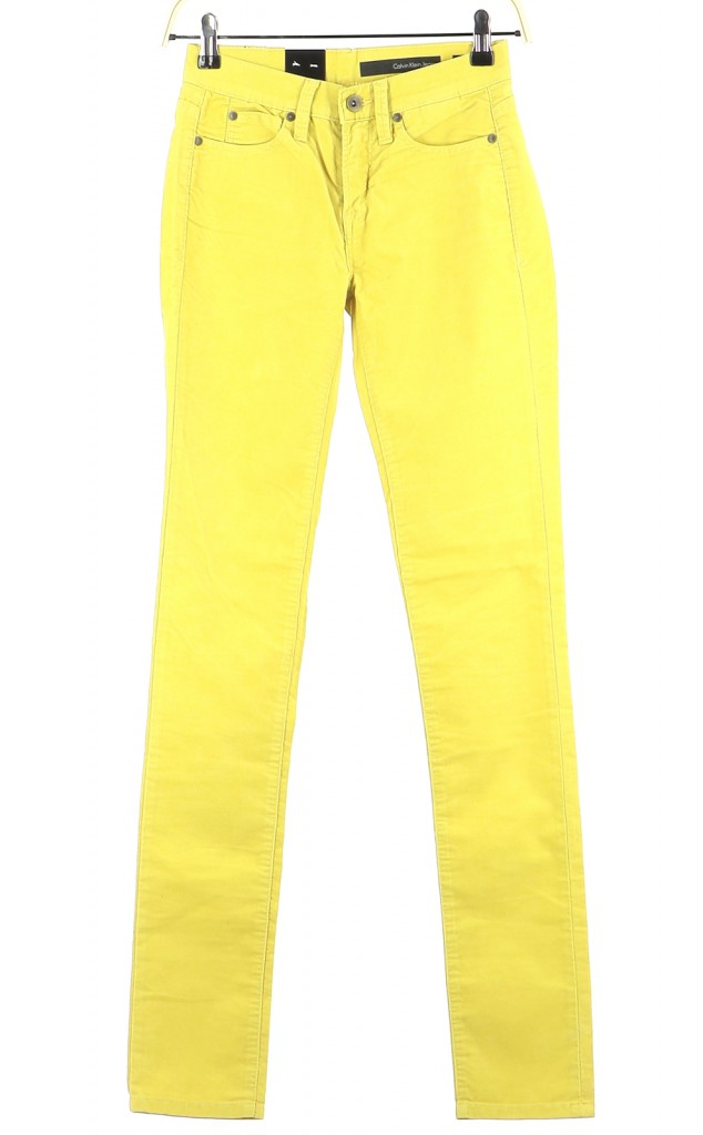 Vetements Jeans CALVIN KLEIN JAUNE