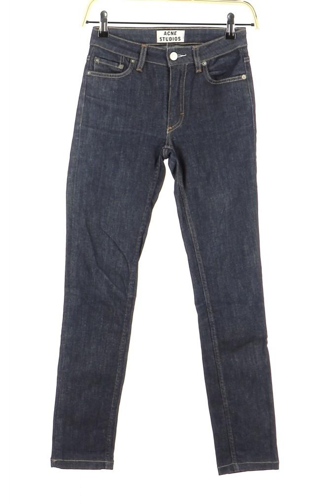 Vetements Jeans ACNE BLEU MARINE
