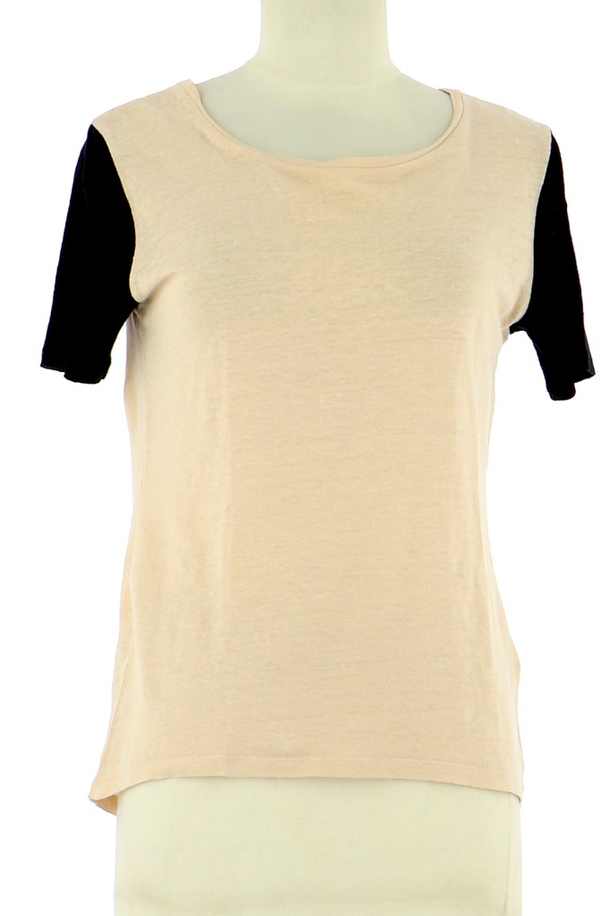 Vetements Tee-Shirt SANDRO ÉCRU