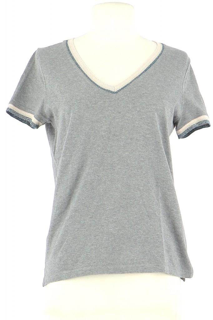 Vetements Tee-Shirt PABLO GRIS