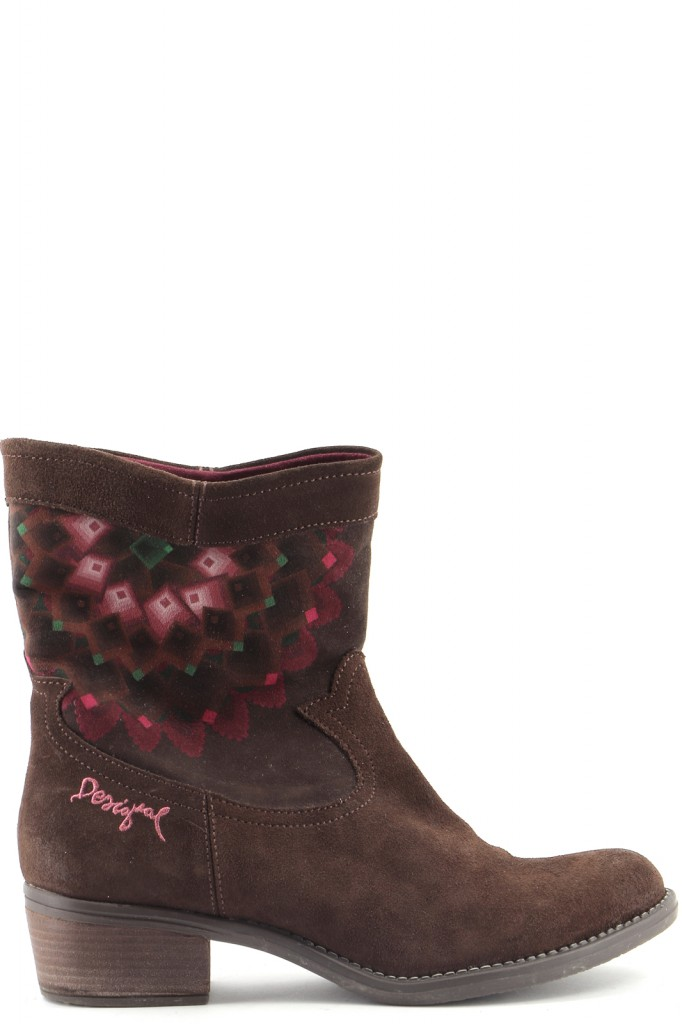 Chaussures Bottines / Low Boots DESIGUAL MARRON