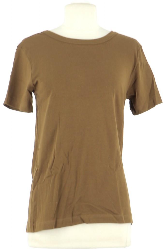 Vetements Tee-Shirt PETIT BATEAU MARRON