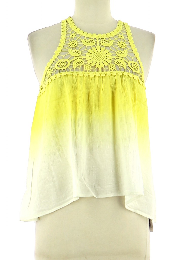 Vetements Top PEPE JEANS JAUNE