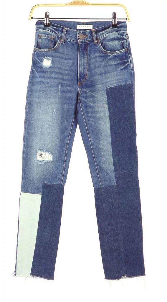 Vetements Pantalon SANDRO BLEU