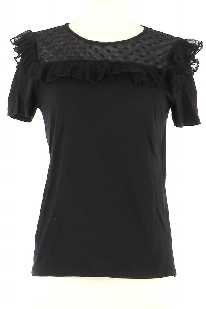 Vetements Top MAJE NOIR