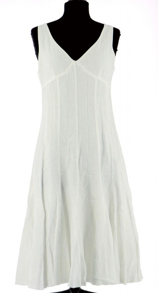 Vetements Robe 123 BLANC