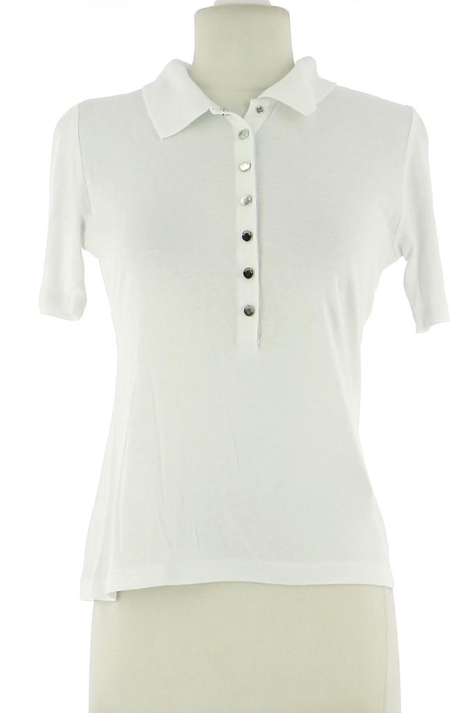 Vetements Tee-Shirt CAROLL BLANC