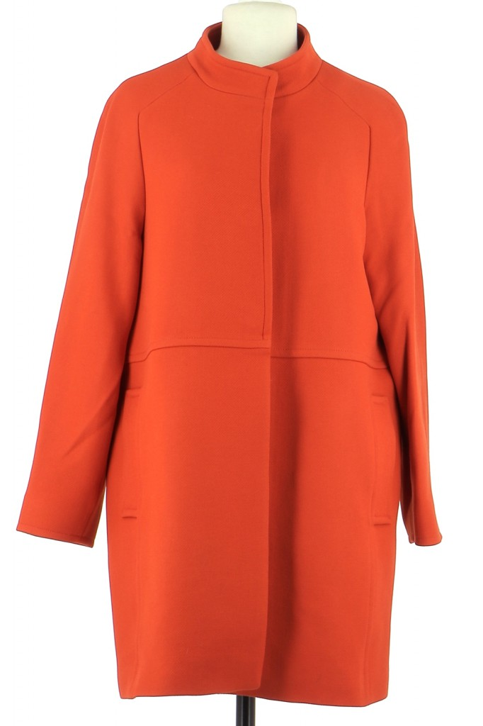 Vetements Manteau MASSIMO DUTTI ORANGE