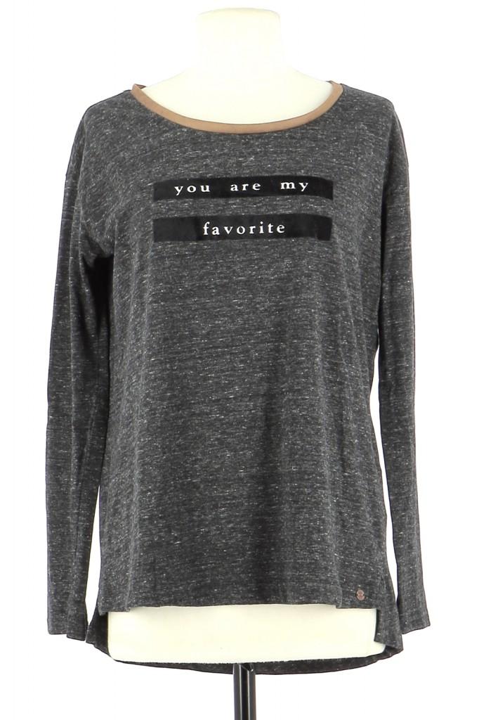 Vetements Tee-Shirt IKKS GRIS