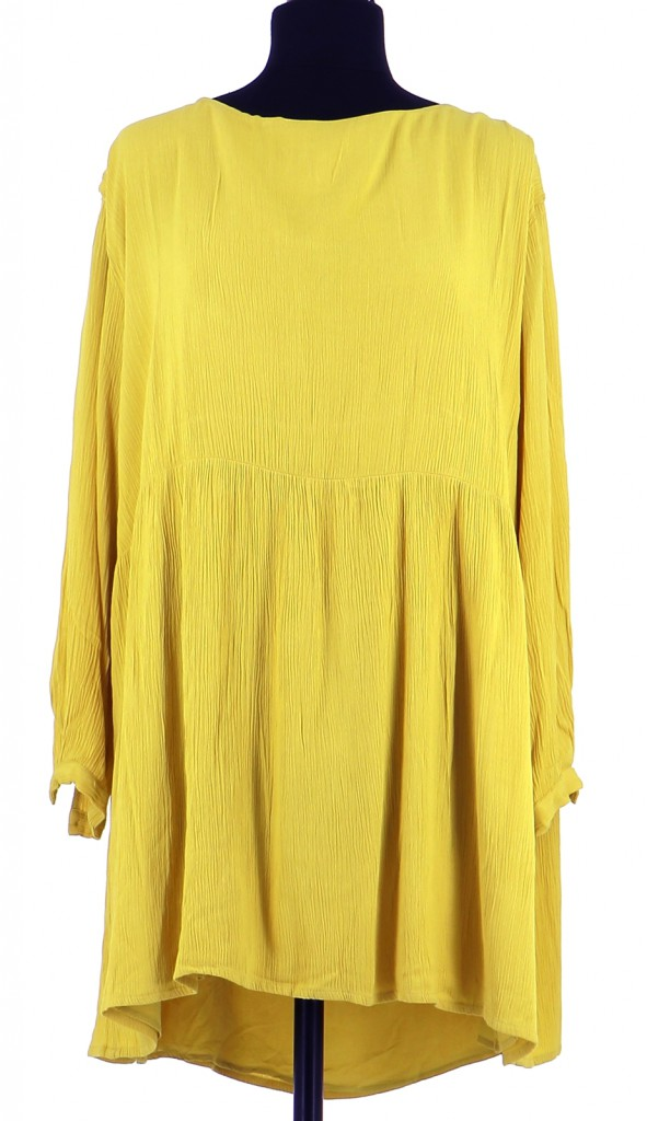 Vetements Robe AMERICAN VINTAGE JAUNE