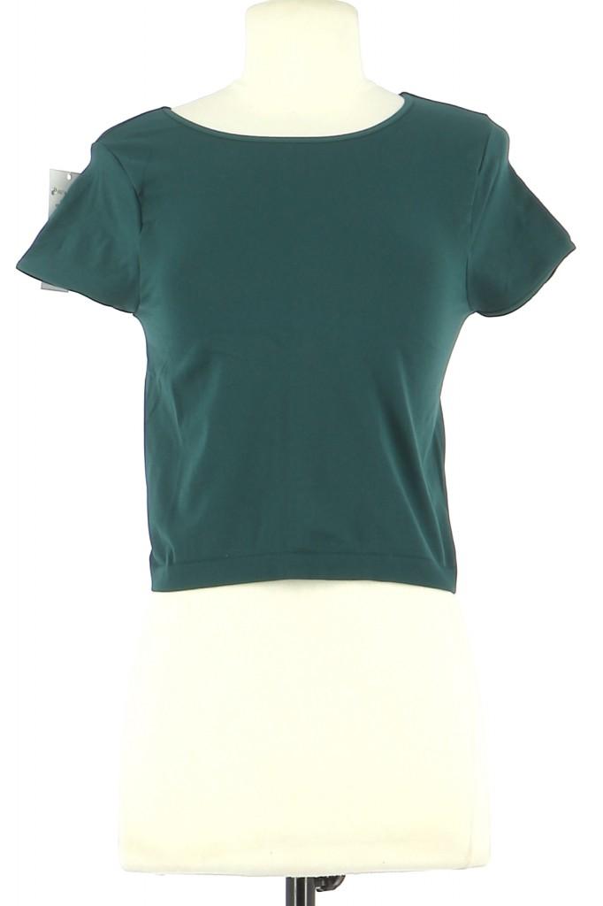 Vetements Tee-Shirt FREE PEOPLE VERT FONCé