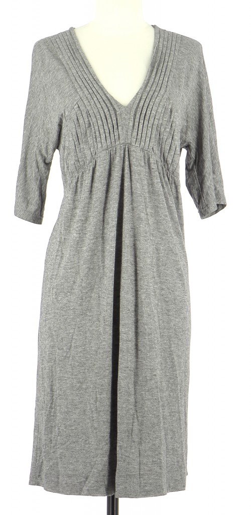 Vetements Robe SANDRO GRIS