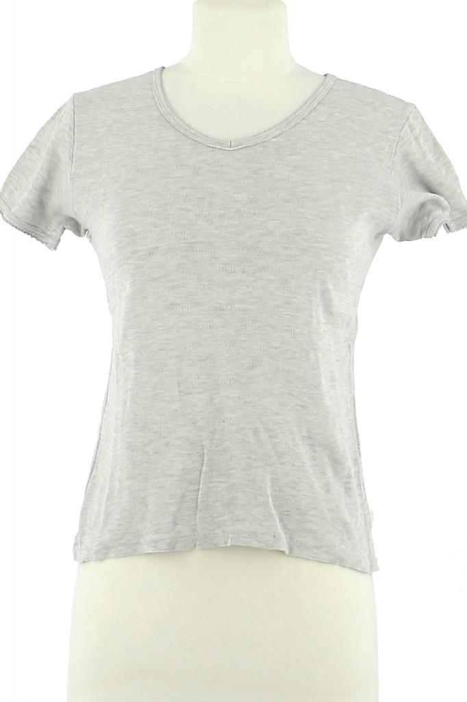 Vetements Tee-Shirt PETIT BATEAU GRIS