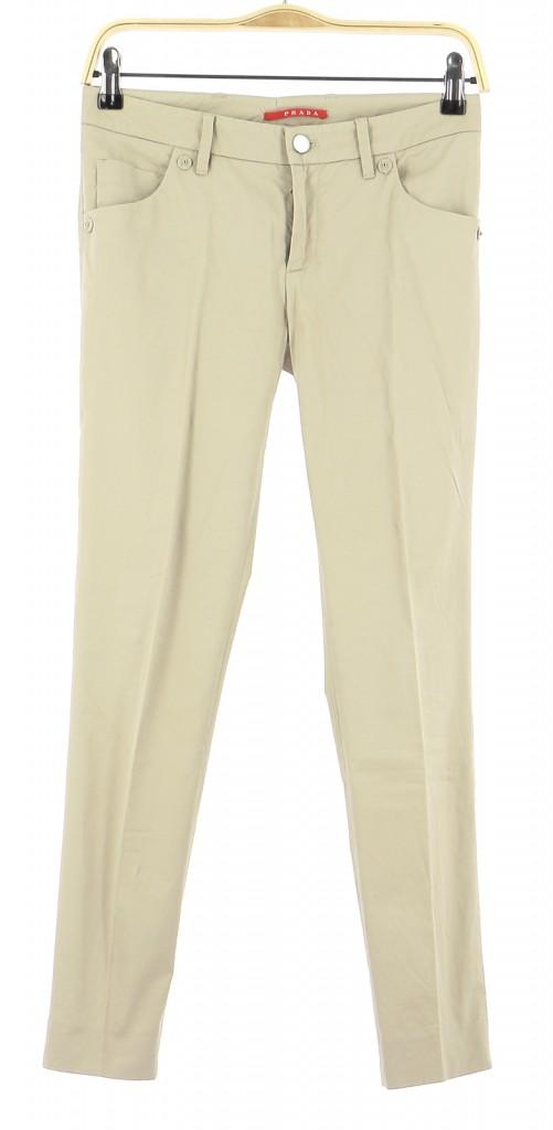 Vetements Pantalon PRADA BEIGE