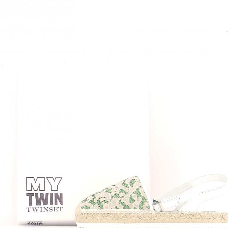 Chaussures Sandales TWINSET BLANC