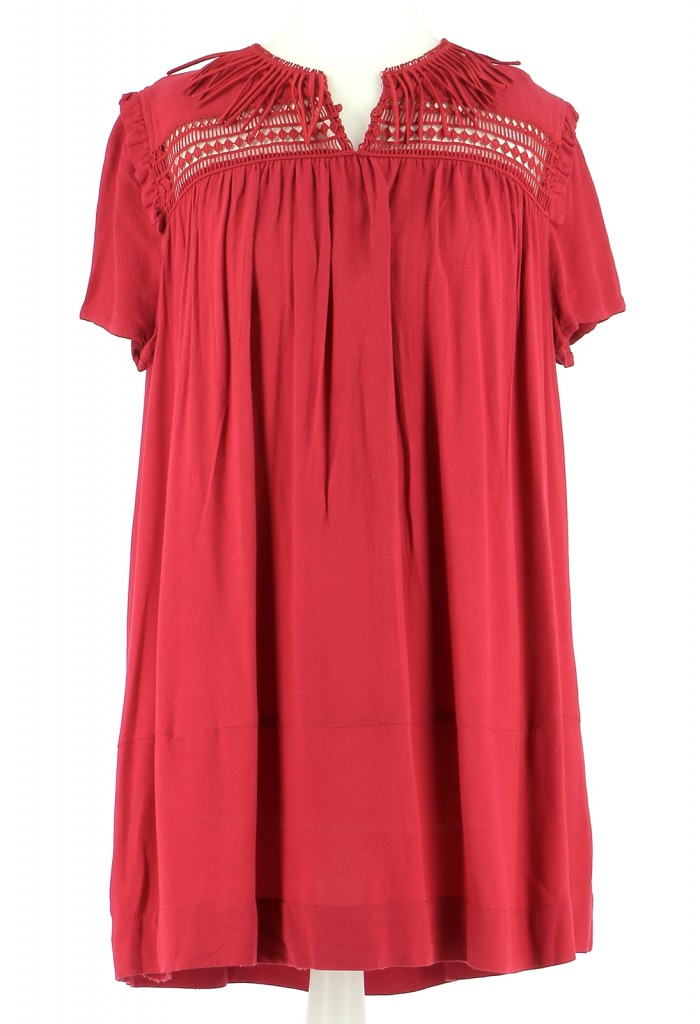 Vetements Robe MAJE CORAIL