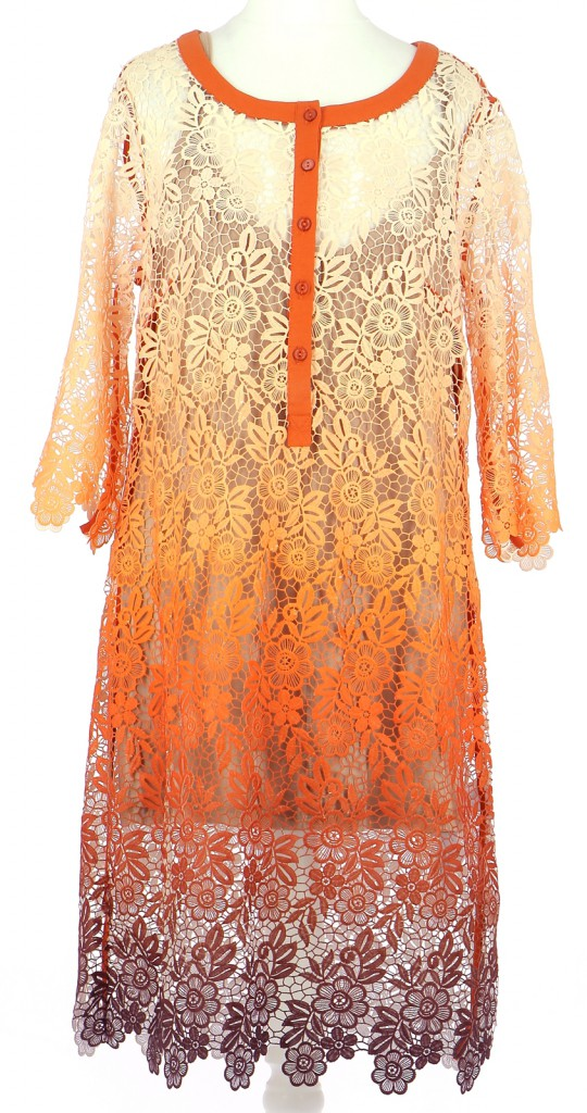 Vetements Robe TWINSET ORANGE