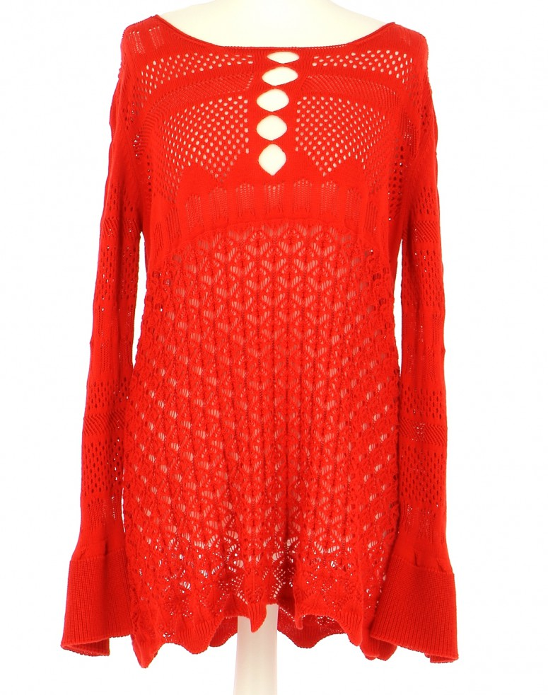 Vetements Pull TWINSET ROUGE
