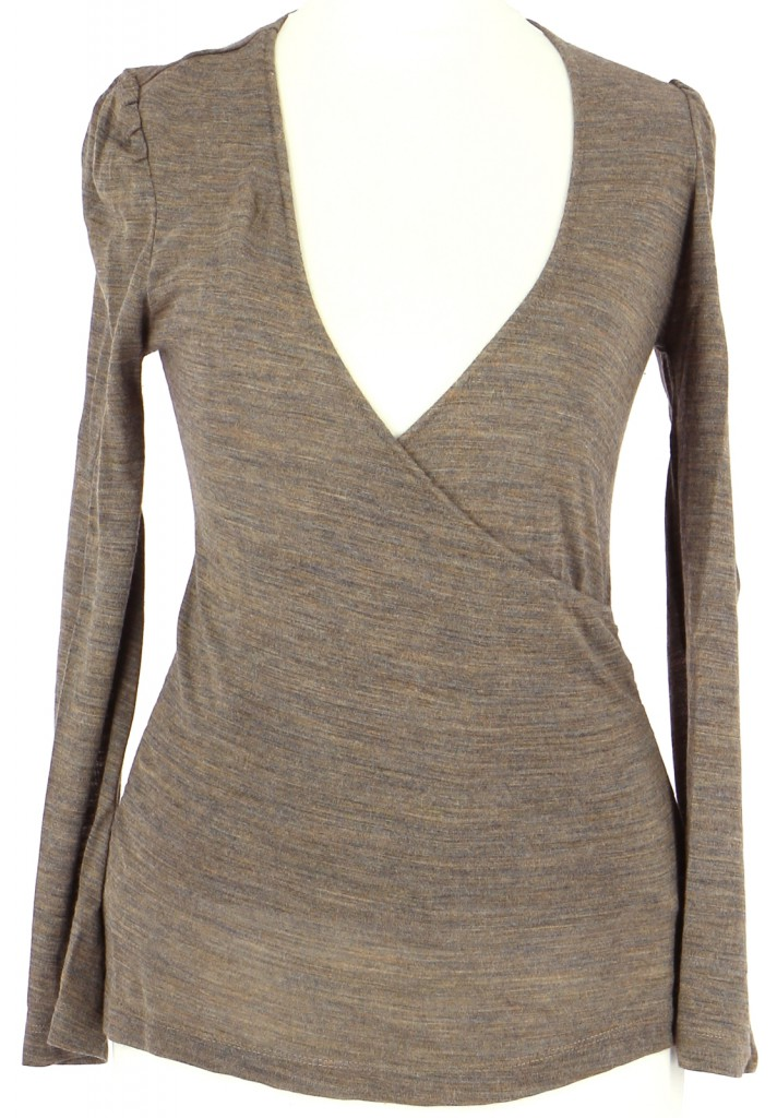 Vetements Top ISABEL MARANT MARRON