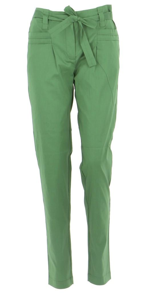 Vetements Pantalon COTELAC VERT FONCé