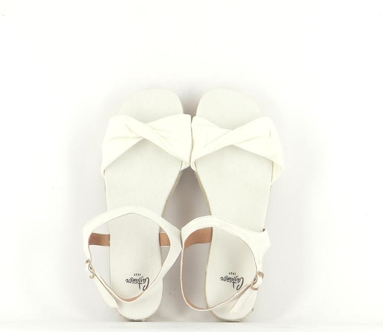Chaussures Sandales CASTANER ÉCRU