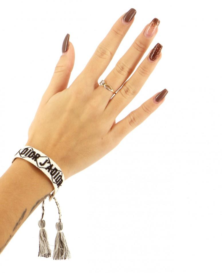 Bijoux Bracelets DIOR BLANC