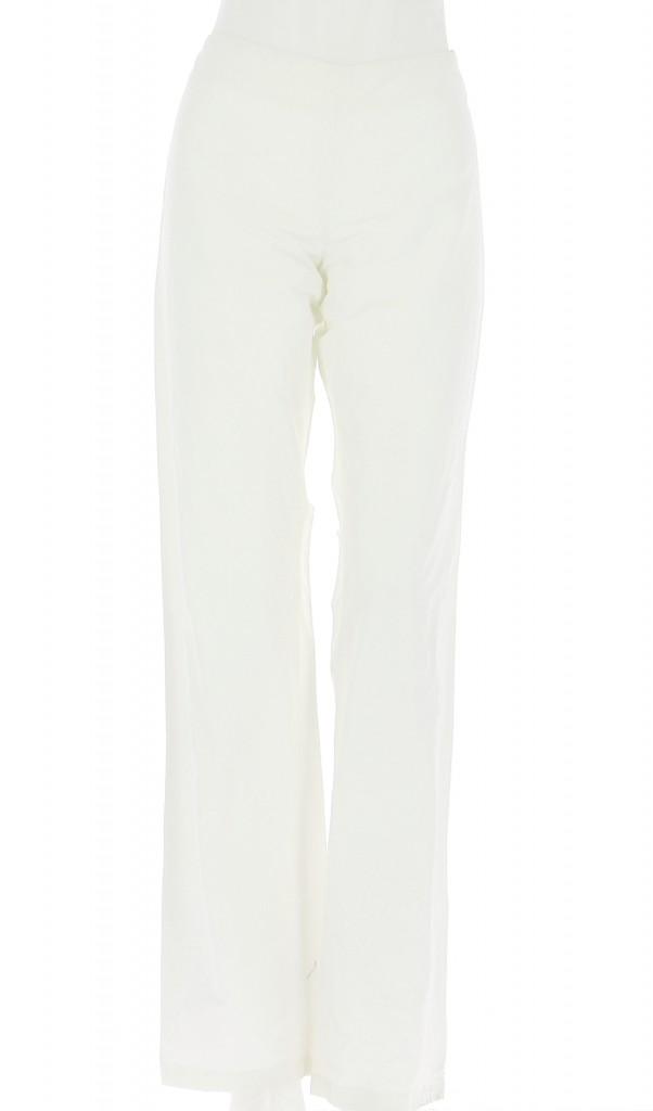 Vetements Pantalon MAX MARA ÉCRU
