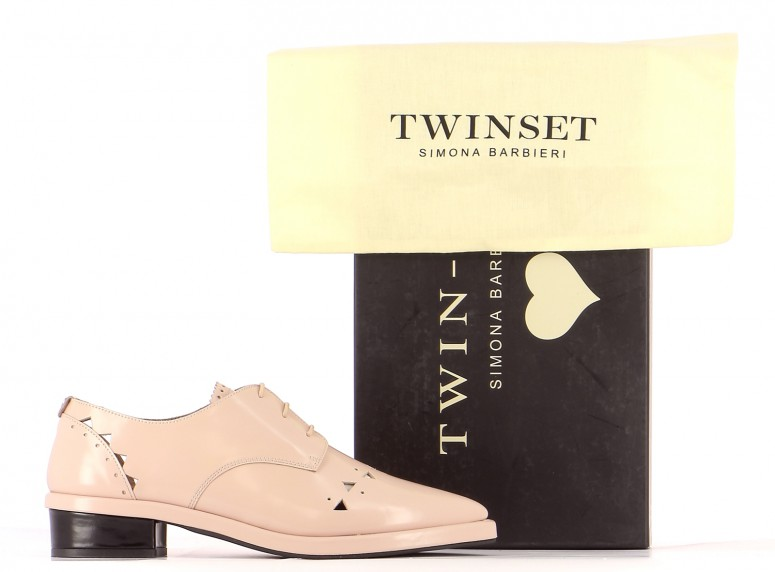 Chaussures Derbies TWINSET ROSE