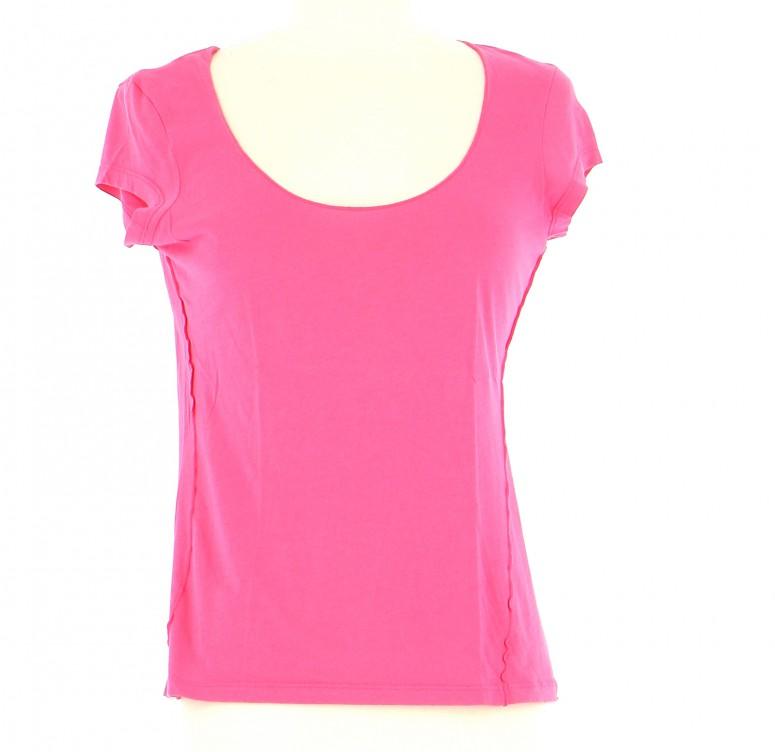 Vetements Tee-Shirt COMPTOIR DES COTONNIERS ROSE