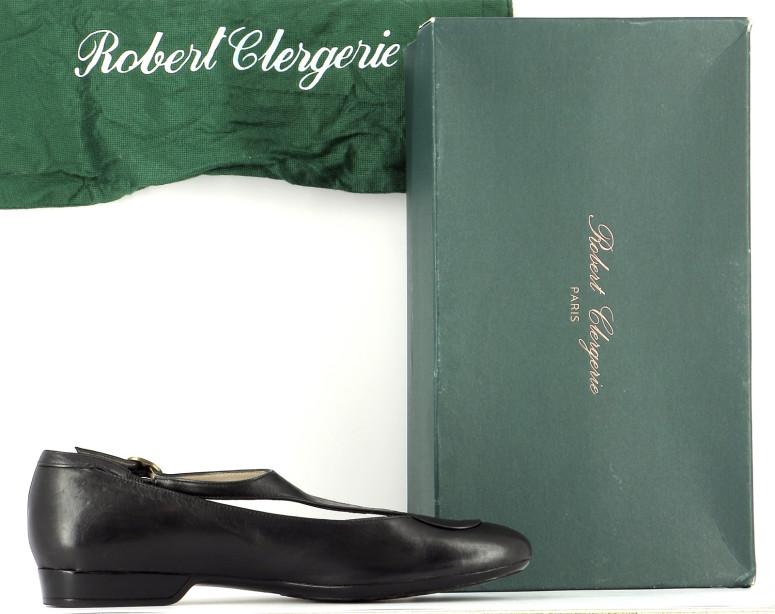 Chaussures Ballerines ROBERT CLERGERIE NOIR