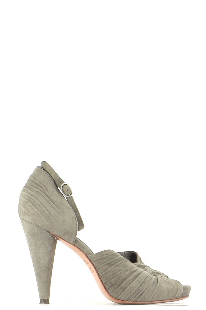 Chaussures Sandales COMPTOIR DES COTONNIERS KAKI