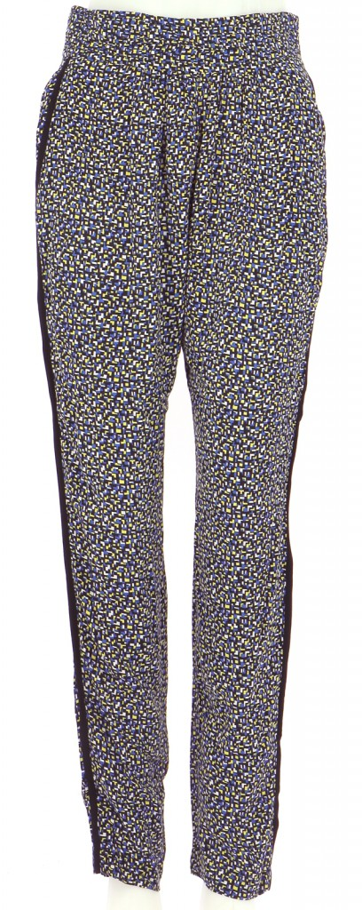 Vetements Pantalon SANDRO BLEU MARINE
