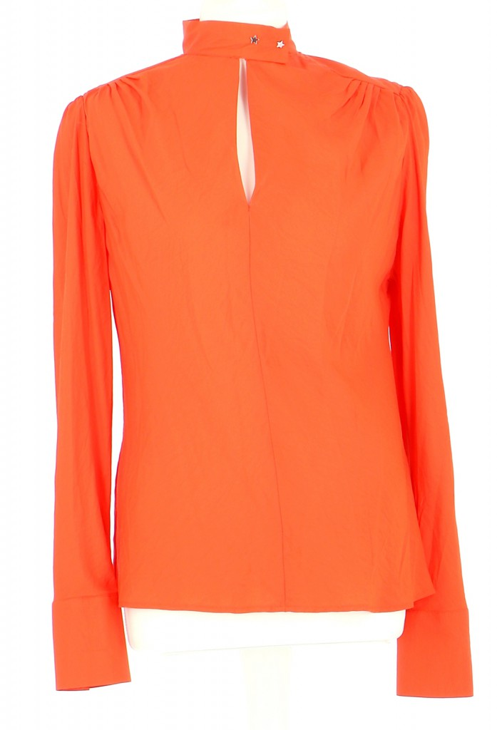 Vetements Blouse MAJE ORANGE