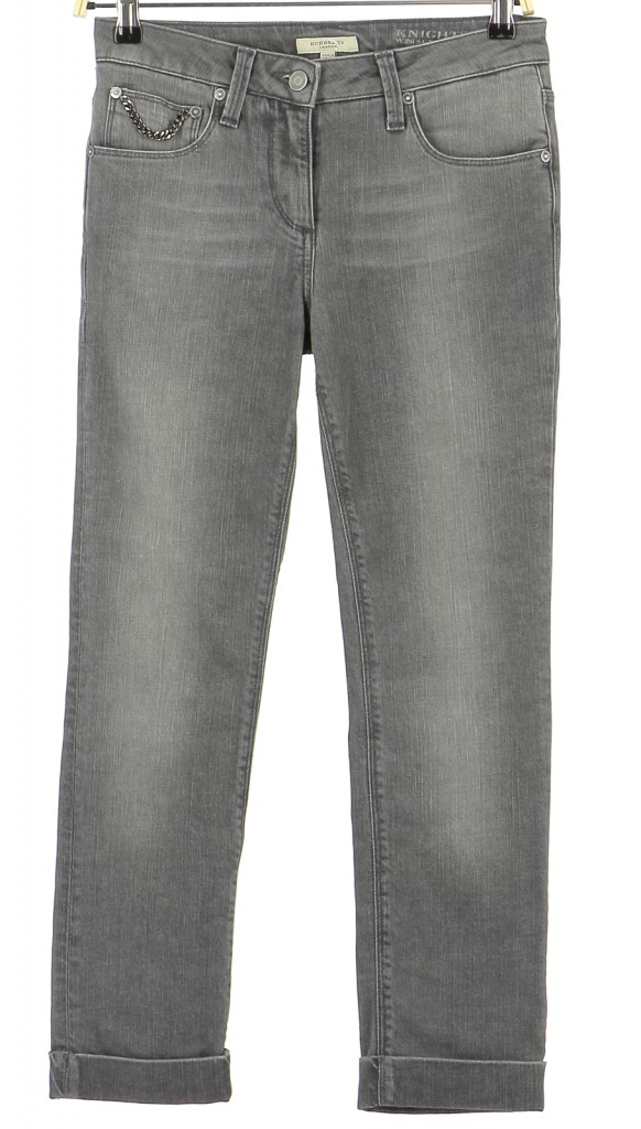 Vetements Jeans BURBERRY GRIS