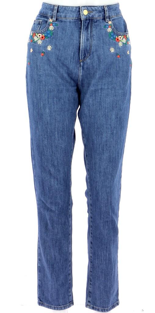 Vetements Jeans DES PETITS HAUTS BLEU
