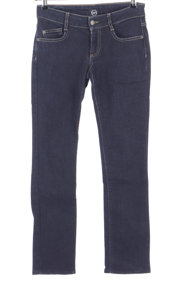 Vetements Jeans ALEXANDER MCQUEEN BLEU MARINE