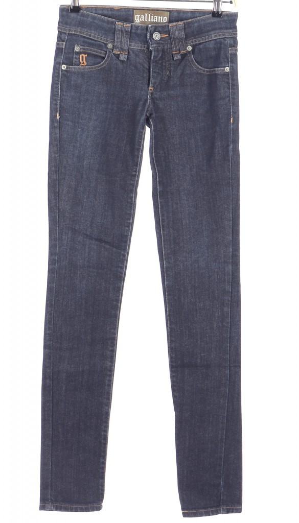 Vetements Jeans JOHN GALLIANO BLEU MARINE