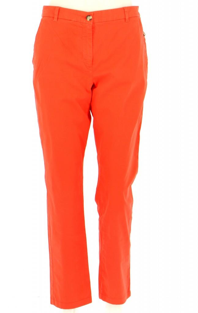 Vetements Pantalon CAROLL ORANGE