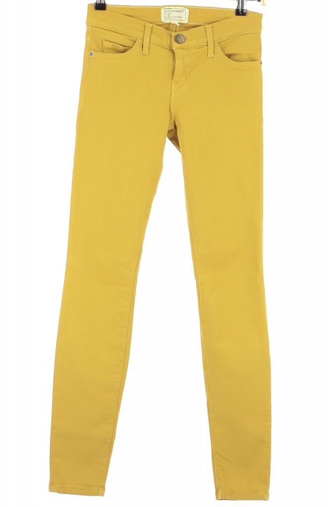 Vetements Jeans CURRENT ELLIOTT JAUNE