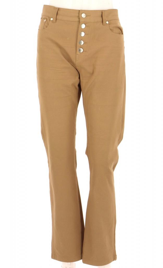 Vetements Pantalon JOSEPH MARRON