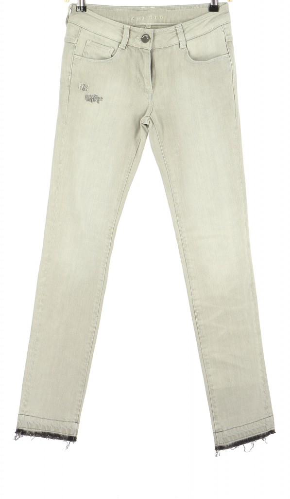 Vetements Jeans SANDRO GRIS
