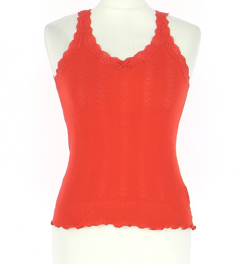 Vetements Top SANDRO ORANGE