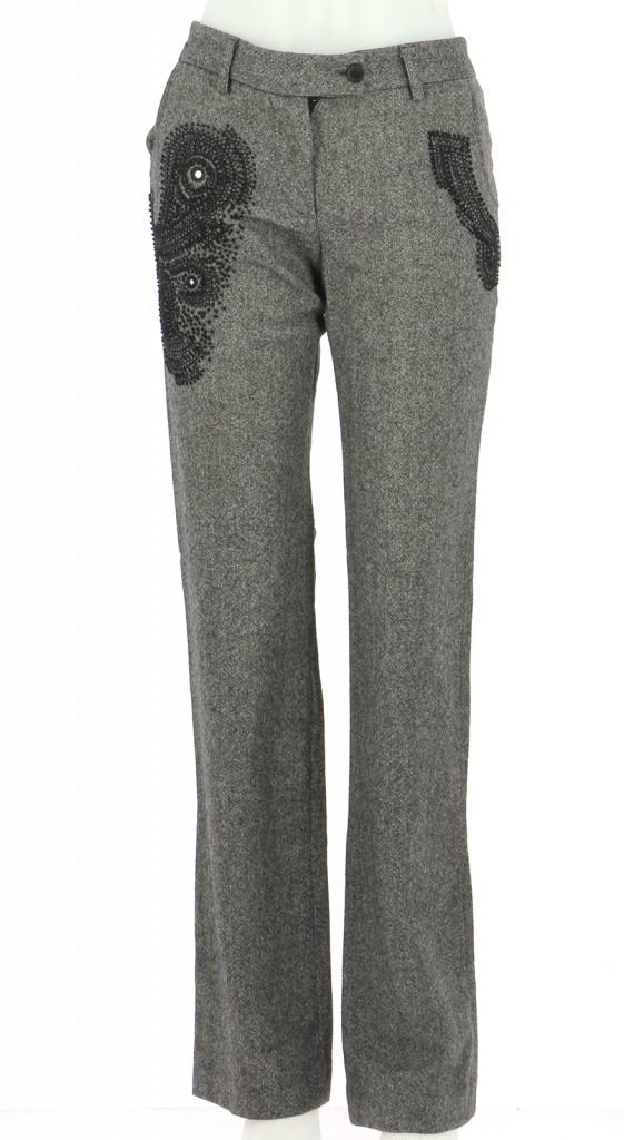 Vetements Pantalon BARBARA BUI INITIALS GRIS